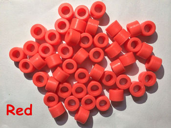 50 Pcs Red Color Small Type Dental Silicone Instrument Color Code Rings